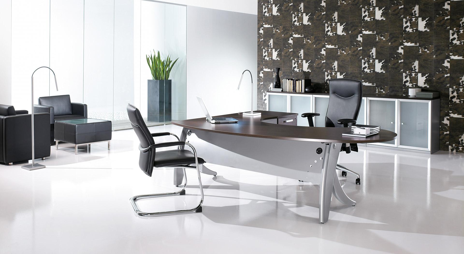 Gamme de mobilier de bureau direction Espace Bureau